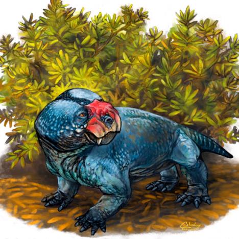 El Dinozoico: 12. Dientes de iguana